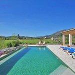 Ferienhaus Mallorca MA3355 Blick über den Pool