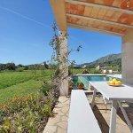 Ferienhaus Mallorca MA3355 Esstisch auf der Grillterrasse