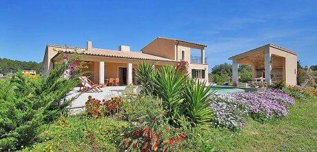 Mallorca Nord – Komfort Ferienhaus Pollensa 3355 Mallorca für 6 Personen mit Pool und Klimaanlage, Strand = 13 km, 03.07. – 27.08.21: Wechseltag Samstag, Nebensaison flexibel.