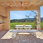 Ferienhaus Mallorca MA3355 Grillhaus mit Esstisch