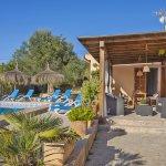 Ferienhaus Mallorca MA3989 Gartenmöbel auf der Terrasse