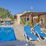 Ferienhaus Mallorca MA3989 Liegen am Pool