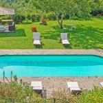 Ferienhaus Toskana TOH525 Blick auf den Pool