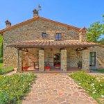 Ferienhaus Toskana TOH525 Eingang zum Haus