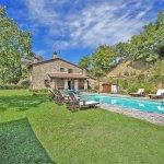 Ferienhaus Toskana TOH525 Garten mit Pool