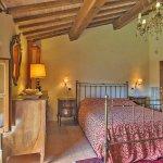Ferienhaus Toskana TOH525 Schlafraum mit Doppelbett