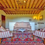 Ferienhaus Toskana TOH525 Sitzecke im Obergeschoss