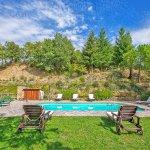 Ferienhaus Toskana TOH525 Sonnenliegen am Pool