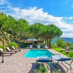 Ferienhaus Toskana TOH525 Swimmingpool mit Ausblick