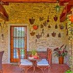 Ferienhaus Toskana TOH525 Terrasse mit Tisch
