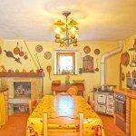 Ferienhaus Toskana TOH525 Tisch in der Küche
