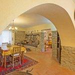 Ferienhaus Toskana TOH525 Wohnebene mit Esstsich