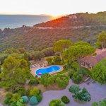 Villa Toskana am Meer TOH790 Blick auf das Grundstück