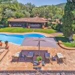 Villa Toskana am Meer TOH790 Blick auf den Pool