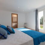 Villa Toskana am Meer TOH790 Doppelbett in Schlafzimmer