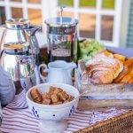 Villa Toskana am Meer TOH790 Frühstück auf der tERRASSE