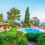 Villa Toskana am Meer TOH790 Garten mit Swimmingpool
