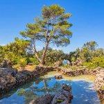Villa Toskana am Meer TOH790 Garten mit Teich