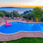 Villa Toskana am Meer TOH790 Meerblick vom Pool