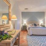Villa Toskana am Meer TOH790 Schlafraum mit Doppelbett