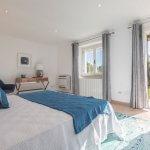 Villa Toskana am Meer TOH790 Schlafzimmer mit Zugang zum Garten
