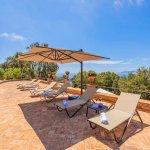 Villa Toskana am Meer TOH790 Terrasse mit Meerblick