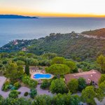Villa Toskana mit Pool am Meer TOH790