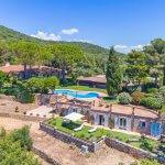 Villa Toskana mit Swimmingpool am Meer TOH790
