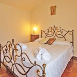 Ferienhaus Toskana TOH424 Bett im Schlafzimmer