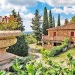 Ferienhaus Toskana TOH424 Garten mit Blumen
