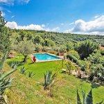 Ferienhaus Toskana TOH424 Garten mit Pool