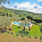 Ferienhaus Toskana TOH424 Pool mit Ausblick