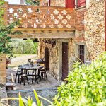 Ferienhaus Toskana TOH424 Terrsse überdacht