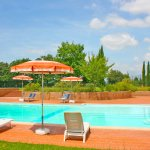 Ferienhaus Toskana TOH625 Pool mit Gartenmöbel