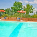 Ferienhaus Toskana TOH625 Pool mit Sonnenliegen