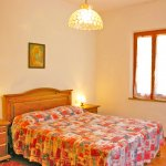 Ferienhaus Toskana TOH625 Schalfraum mit Doppelbett