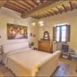 Ferienhaus Toskana TOH635 Schlafzimmer mit Doppelbett