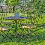 Ferienhaus Toskana TOH635 Tisch im Garten