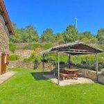 Ferienhaus Toskana TOH960 überdachte Terrasse