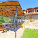 Ferienhaus Toskana TOH960 Esstisch auf der Terrasse