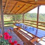 Ferienhaus Toskana TOH960 Esstisch im Garten