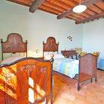 Ferienhaus Toskana TOH960 Schlafraum mit 2 Betten
