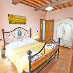 Ferienhaus Toskana TOH960 Schlafraum mit Doppelbett