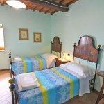 Ferienhaus Toskana TOH960 Zweibettzimmer