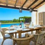 Ferienhaus Mallorca MA4831 überdachte Terrasse