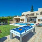 Ferienhaus Mallorca MA4831 Billardtisch auf der Terrasse