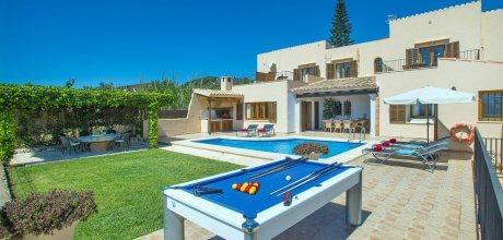 Mallorca Südost – Ferienhaus S'Horta 4831 mit Pool und Internet, Grundstück 1.800qm, Wohnfläche 200qm. Wechseltag Samstag, Nebensaison flexibel auf Anfrage – Mindestmietzeit 1 Woche. – – Wenn wegen Corona / Covid 19 kein Aufenthalt im Ferienhaus möglich ist, kann vor Anreise gegen Zahlung von Euro 200,- umgebucht oder storniert werden!