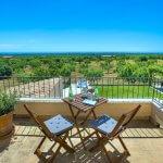 Ferienhaus Mallorca MA4831 Dachterrasse mit Meerblick