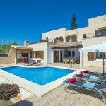 Ferienhaus Mallorca MA4831 Poolterrasse mit Gartenmöbel