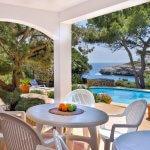 Villa Mallorca MA5549 überdachte Terrasse